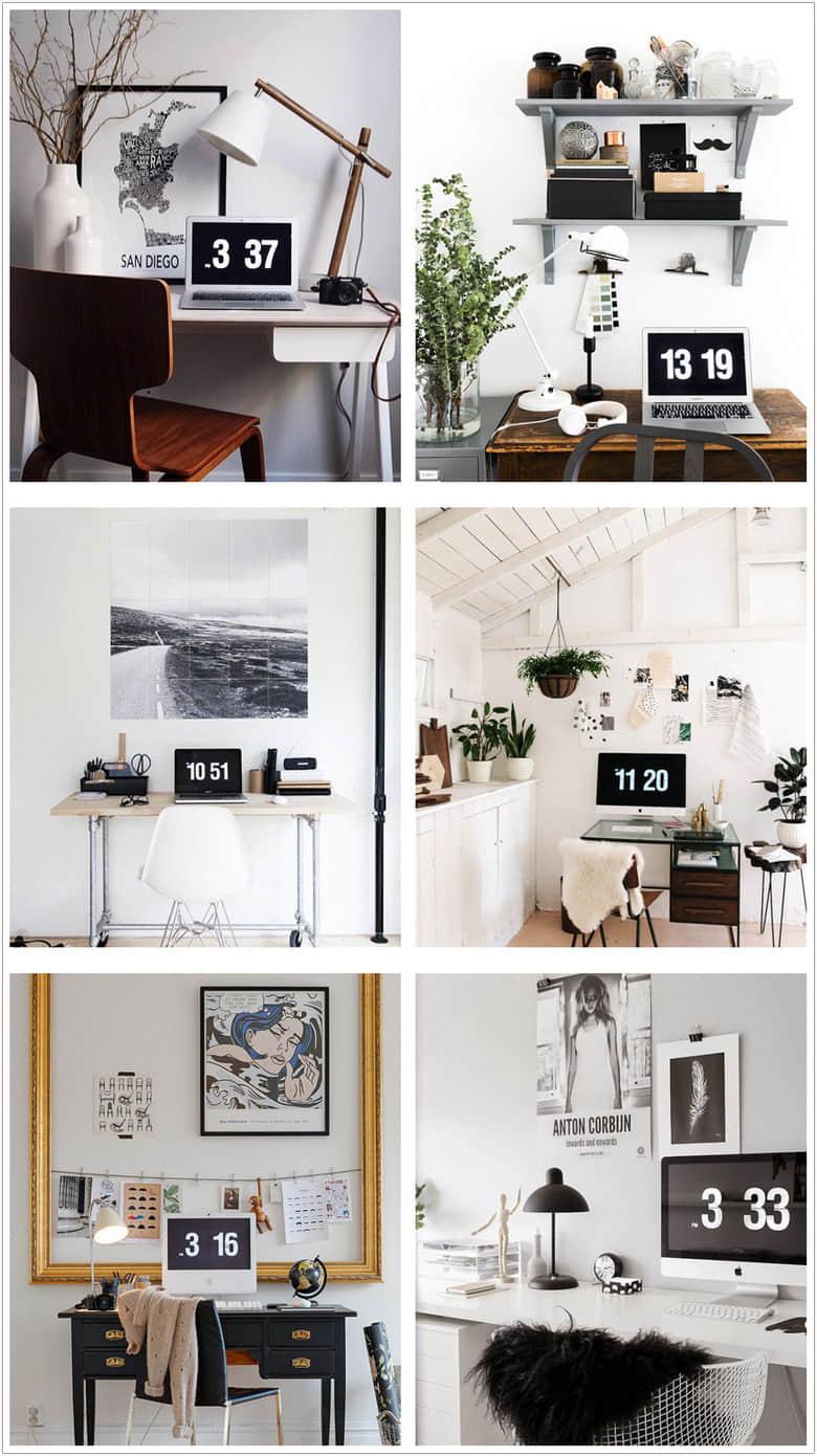 用对这款Fliqlo翻页时间电脑屏保壁纸,让你瞬间提升逼格和幸福感插图(4)